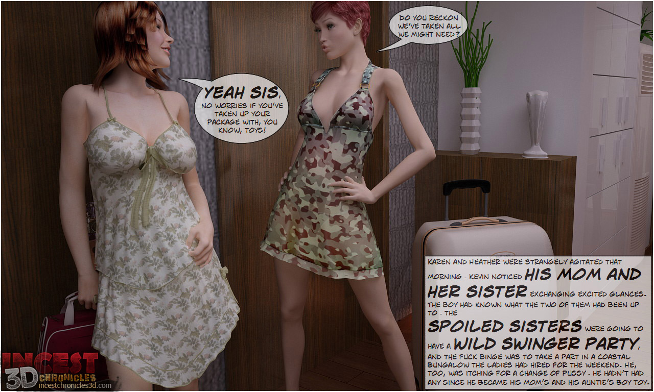 IncestChronicles3D – Big Family Taboo Party