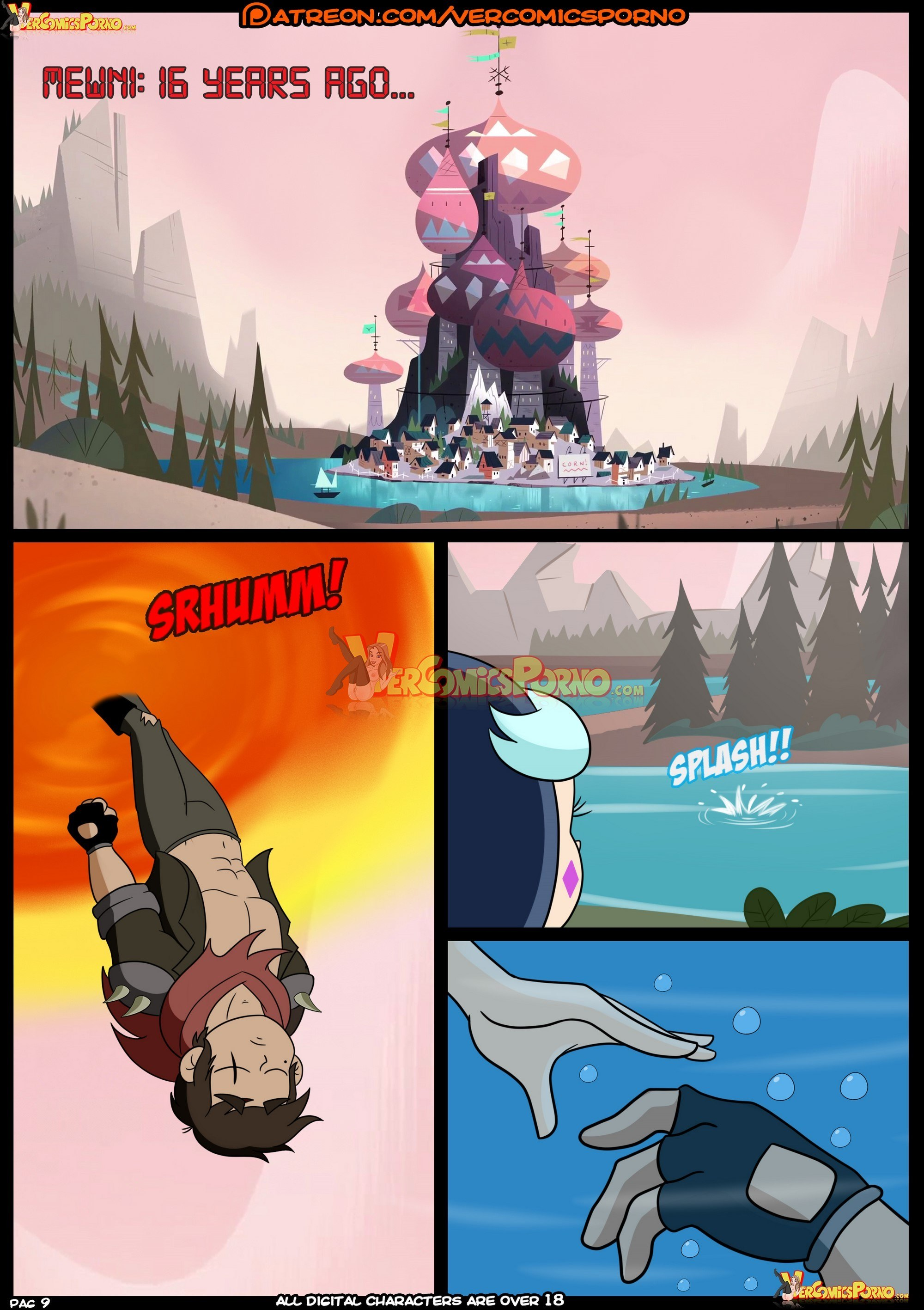 Marco vs the forces of time- Croc