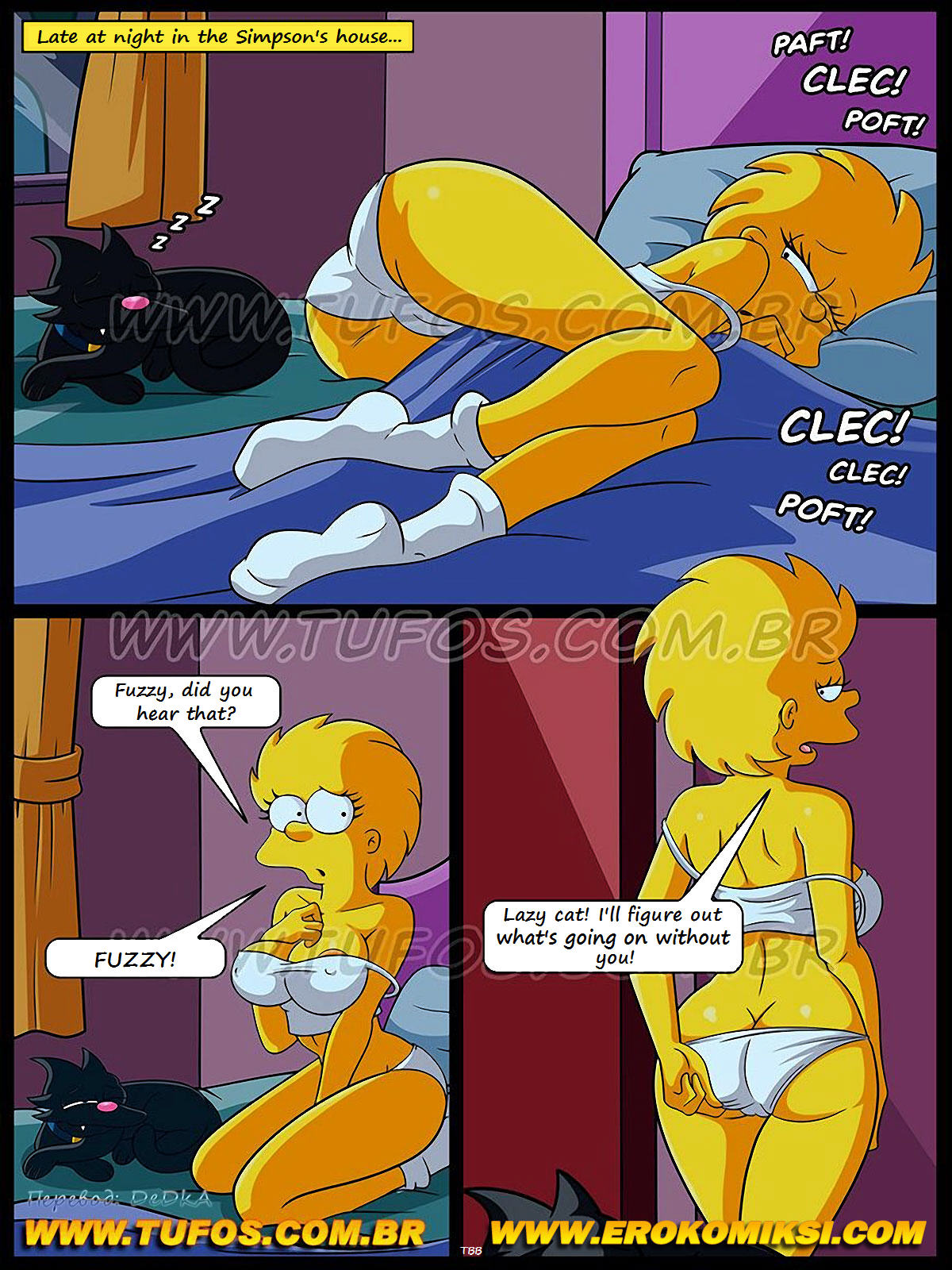 (Tufos) The Simpsons- Spying
