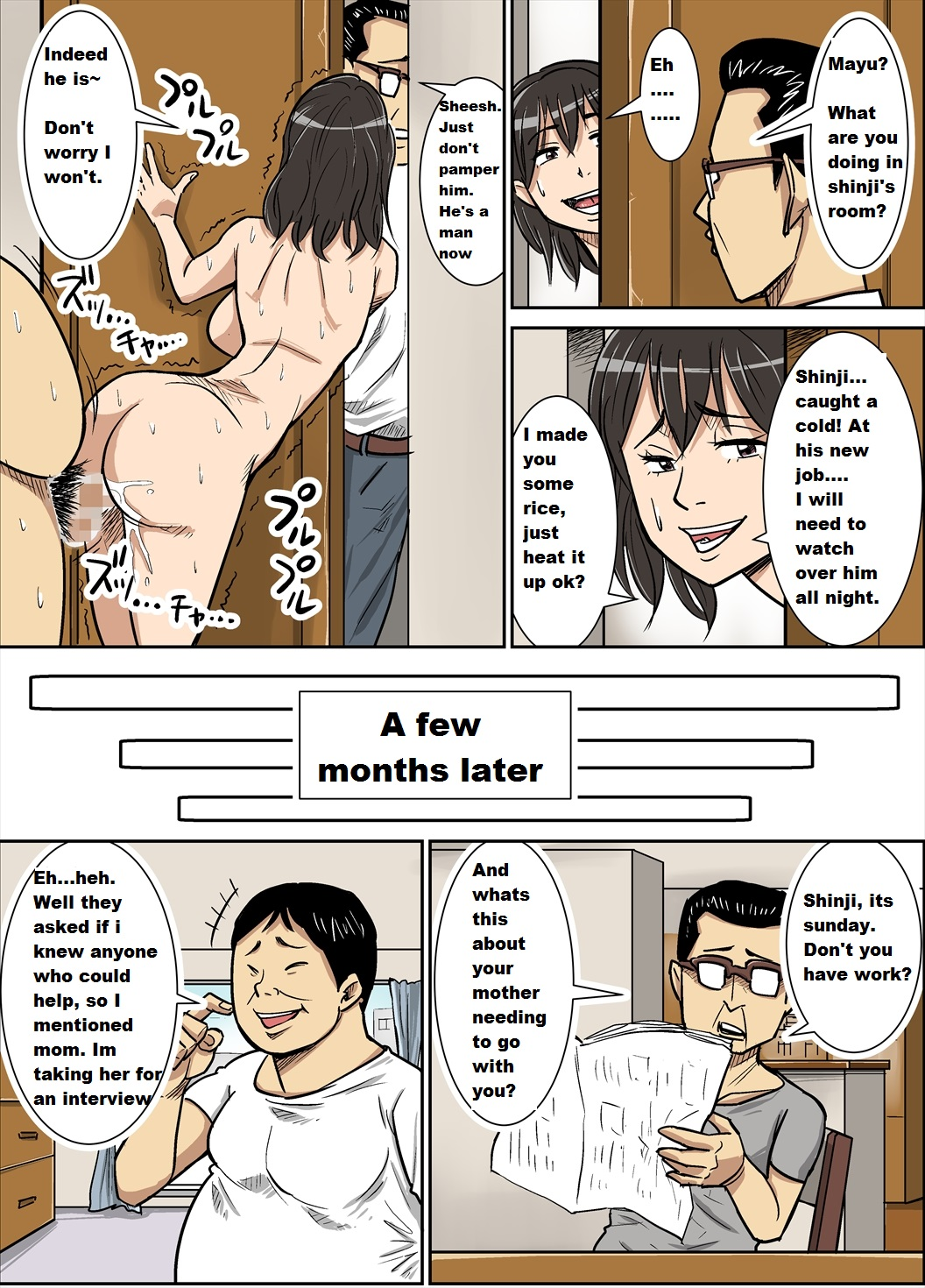 Mother Cheating With Son – Hentai