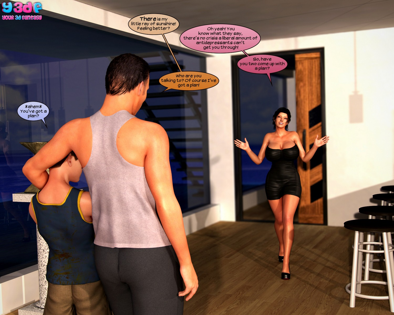 Y3DF – Abandonment Issues 1