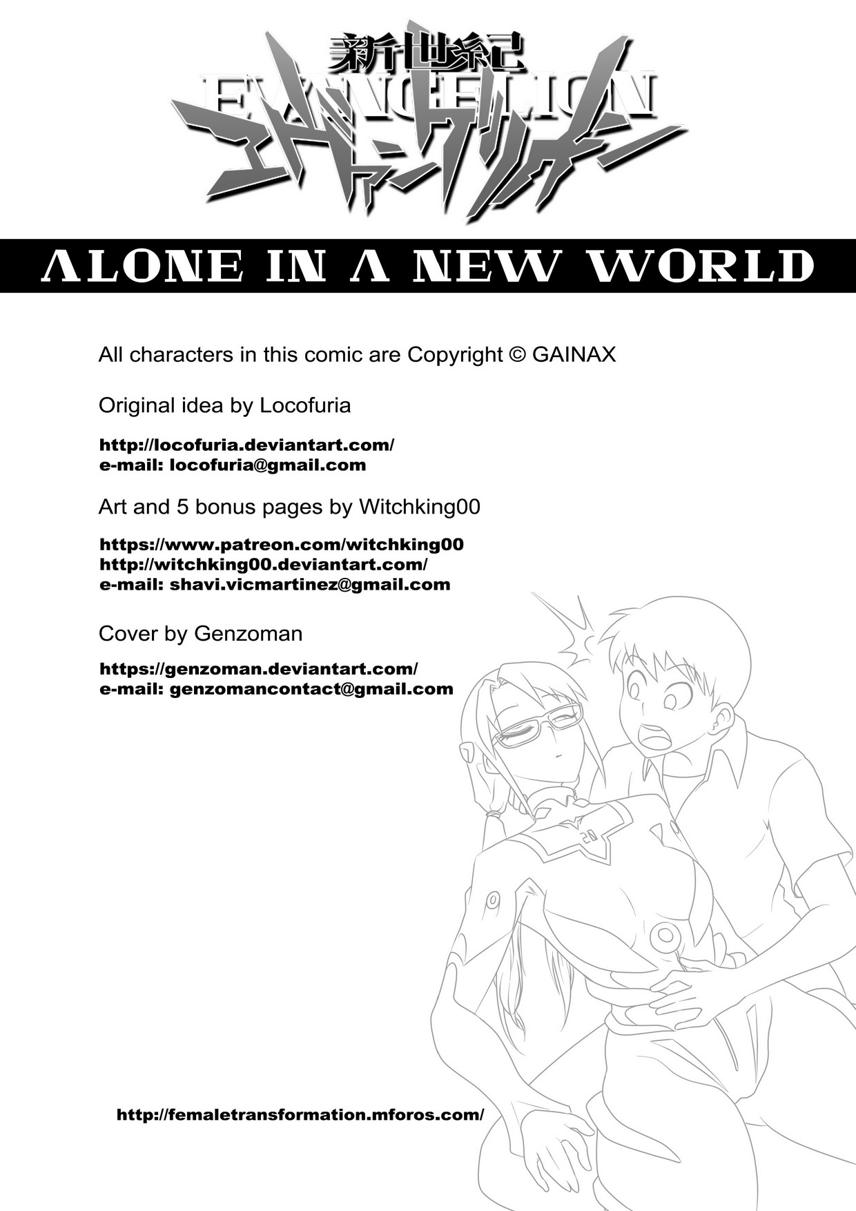 Witchking00 – Alone In A New World 2