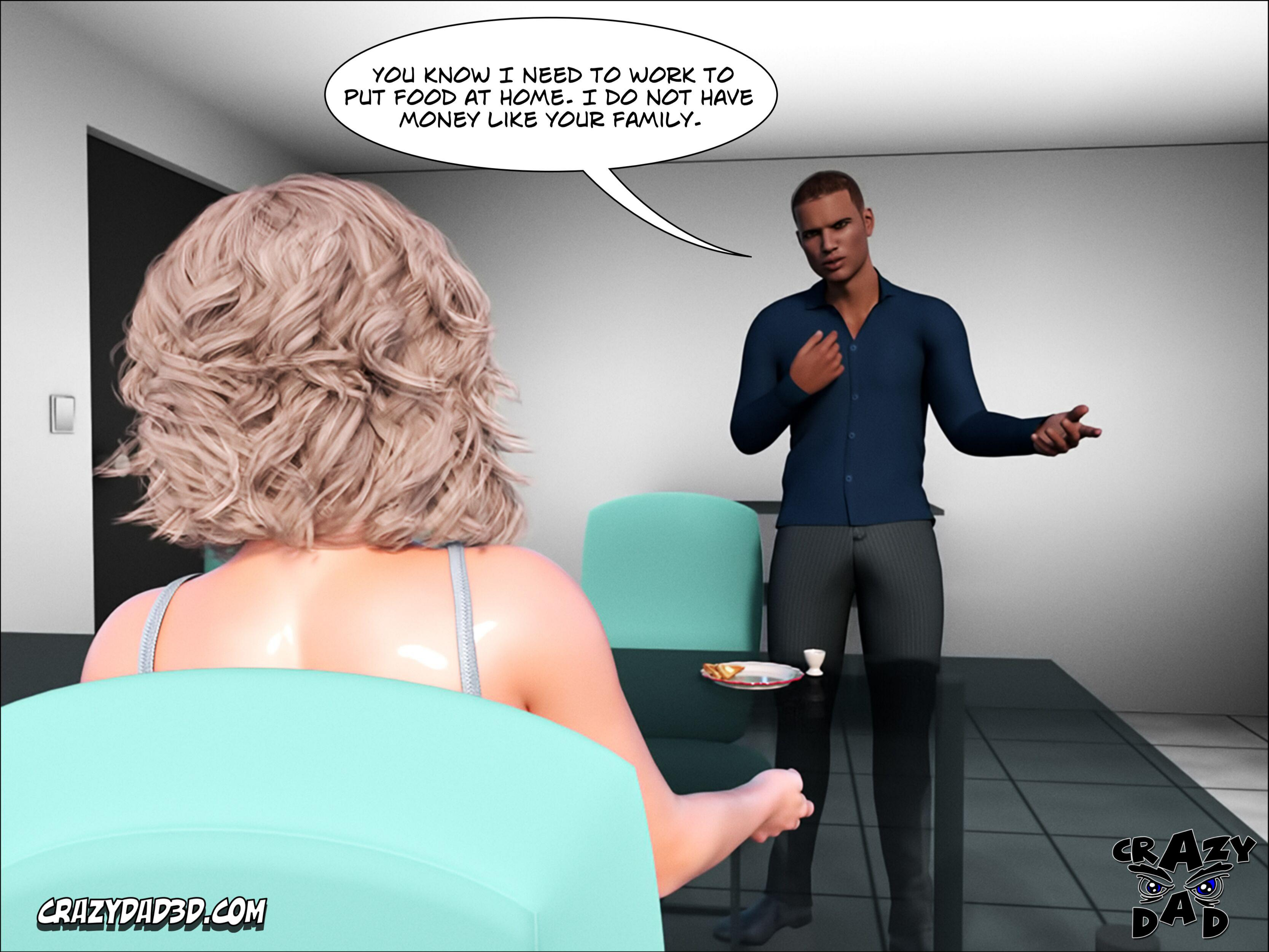 CrazyDad3D – Father In Law At Home 1