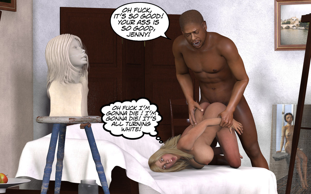 [DarkCowBoy] Jenny – The Model and The Sculptor