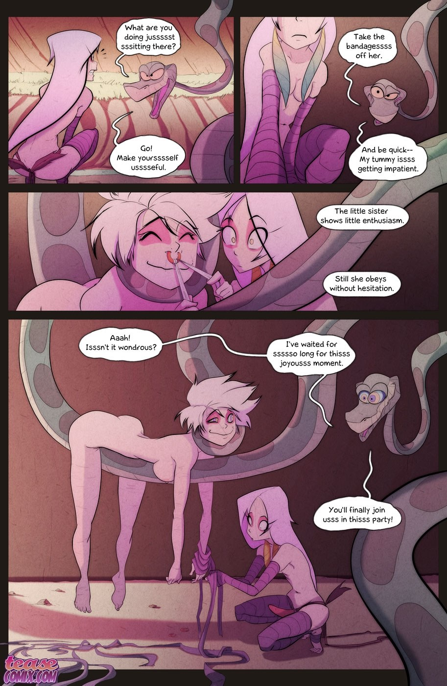 [Fixxxer] The Snake and The Girl 5