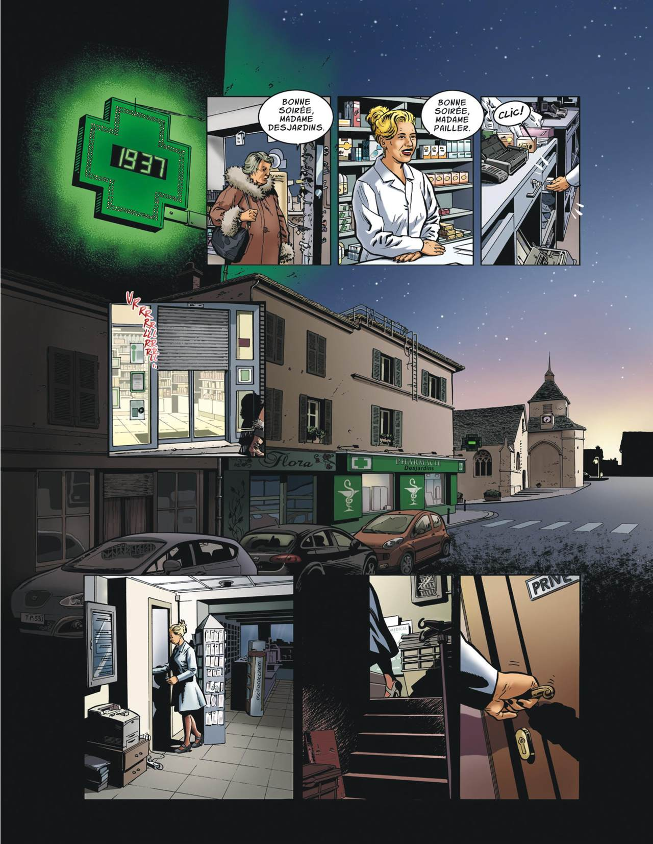 Esparbec – The Pharmacist (French)