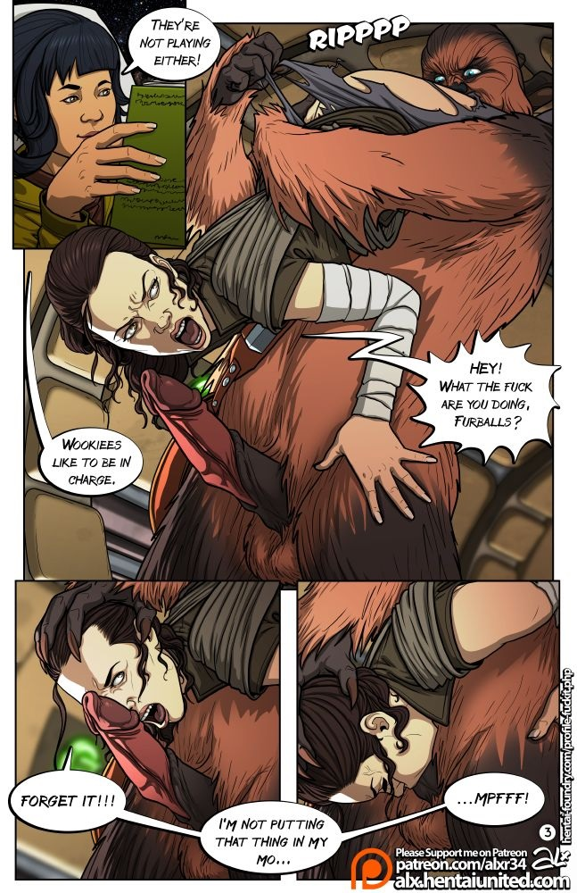 A Complete Guide to Wookie Sex [Star Wars]