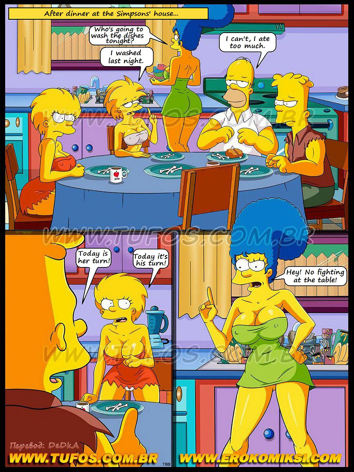 (Simpsons) The Checkers Game- Tufos