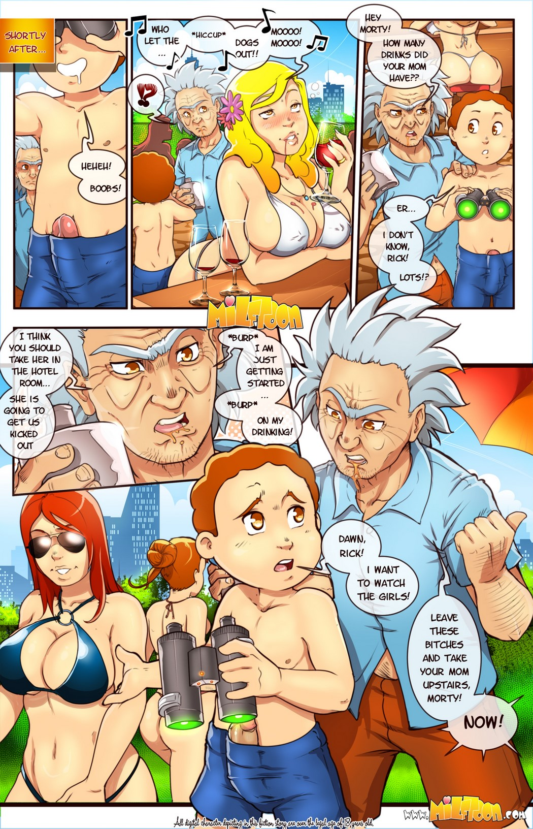 Milftoon – Mort and Ricky 1