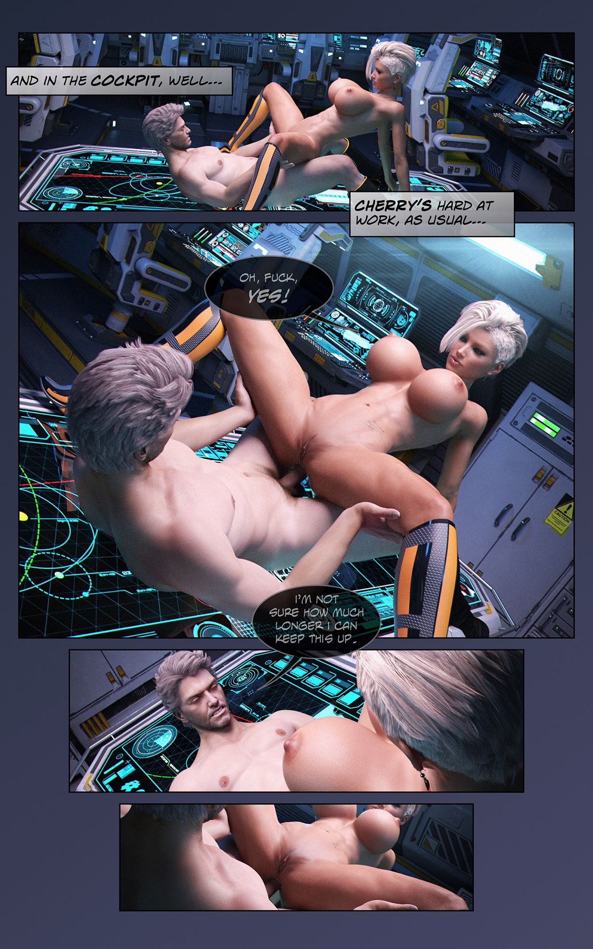 Looks Can Kill – Space XXX- Invasion Part 1