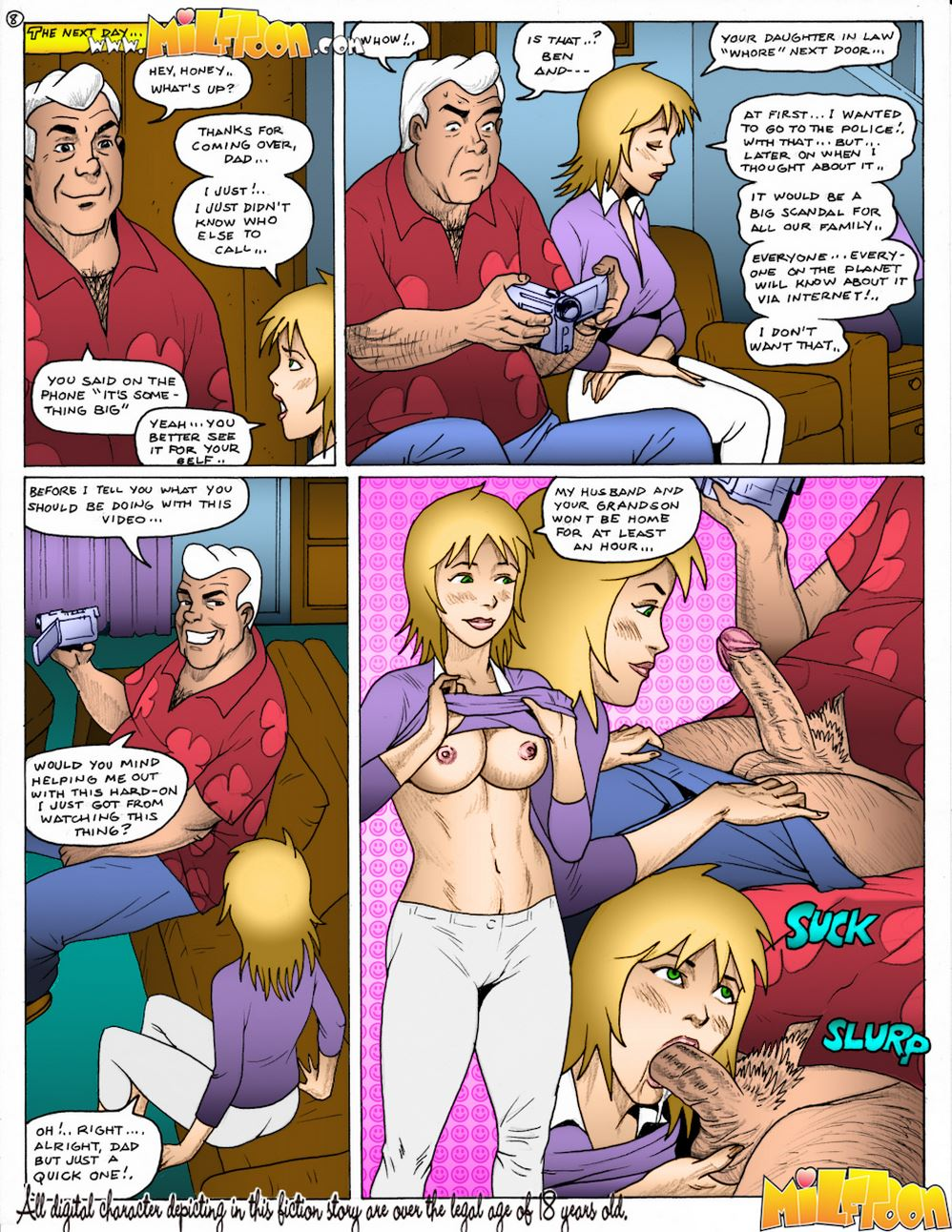 Milftoon – Ben 10 inches (Color)