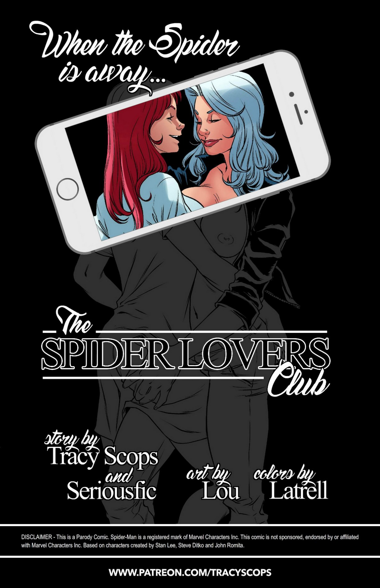 (TracyScops) SPIDER LOVERS CLUB(Seriousfic)
