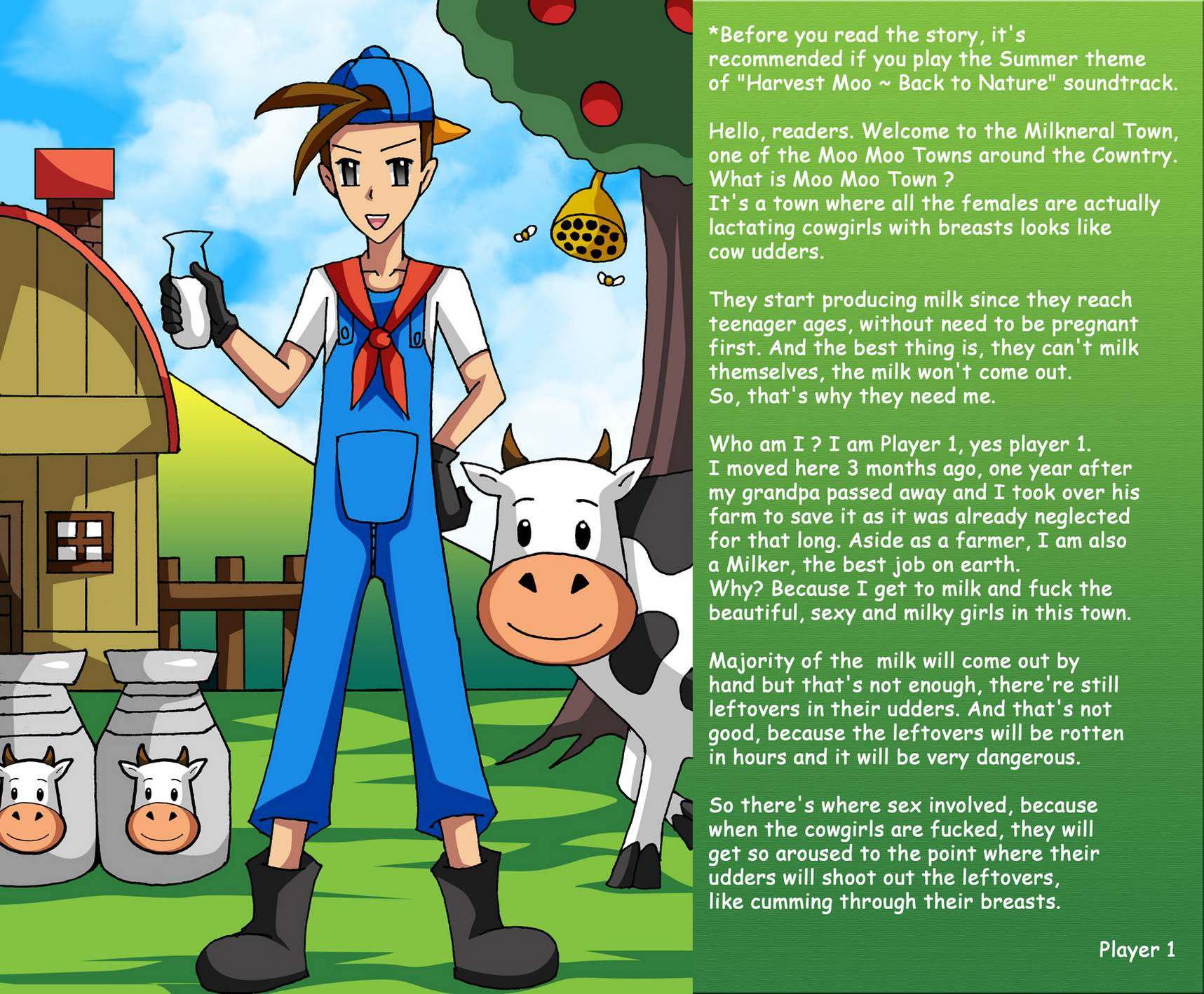 HARVEST MOO – SAVE THE COWLAND
