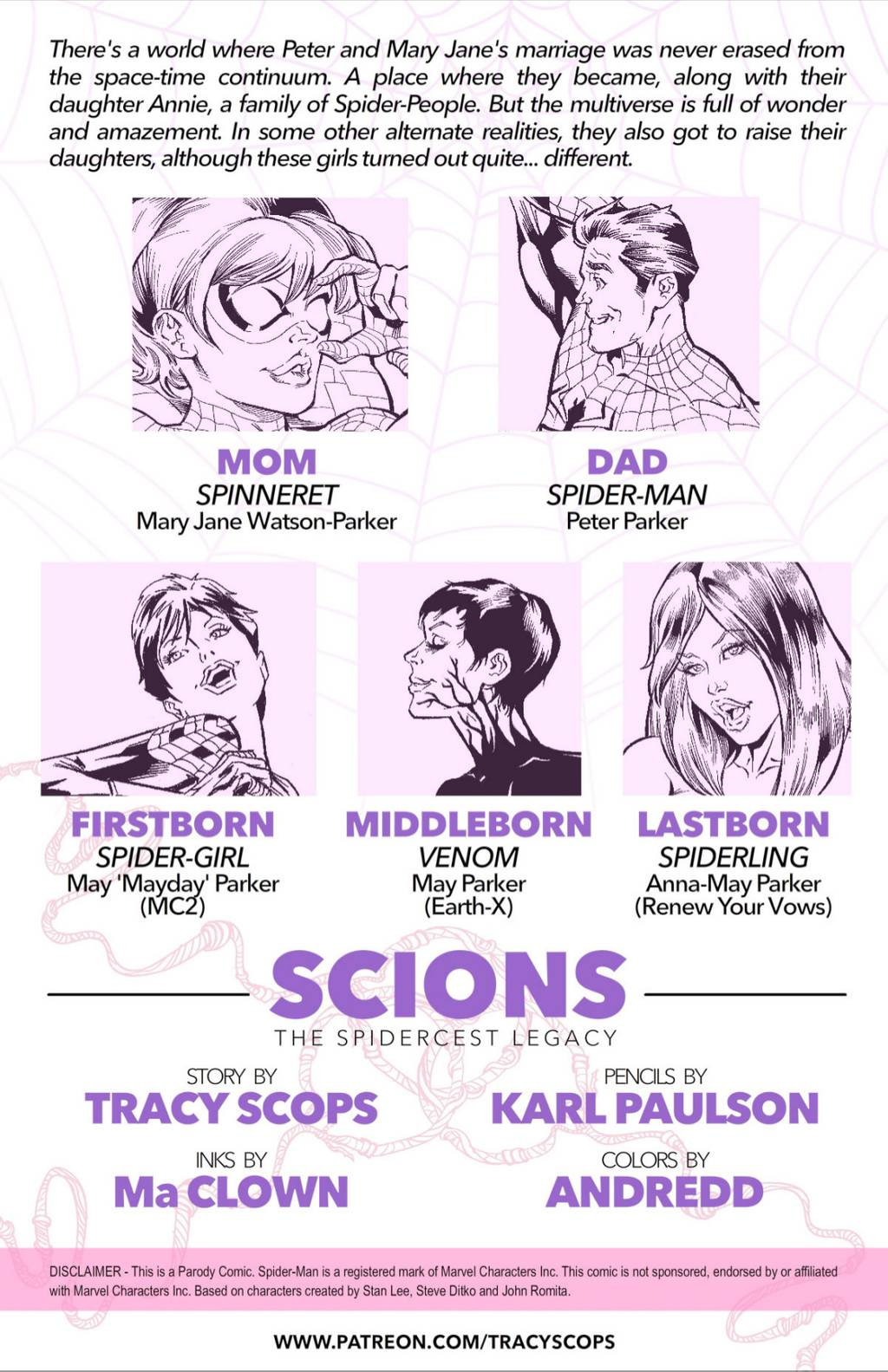 Scions- The Spidercest Legacy-Tracyscops