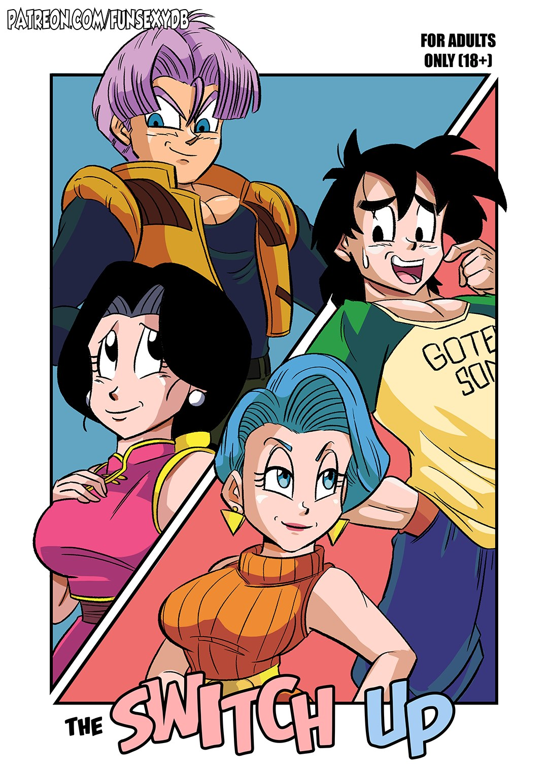 Dragon Ball Z- The Switch Up