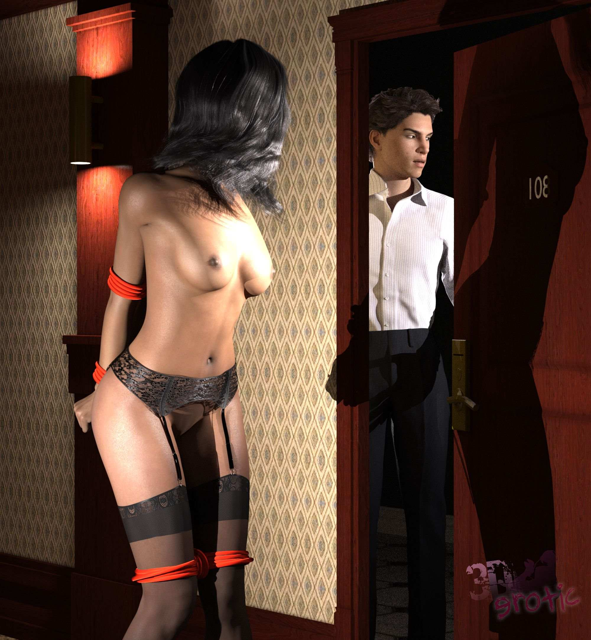 3D Erotic – The First Date