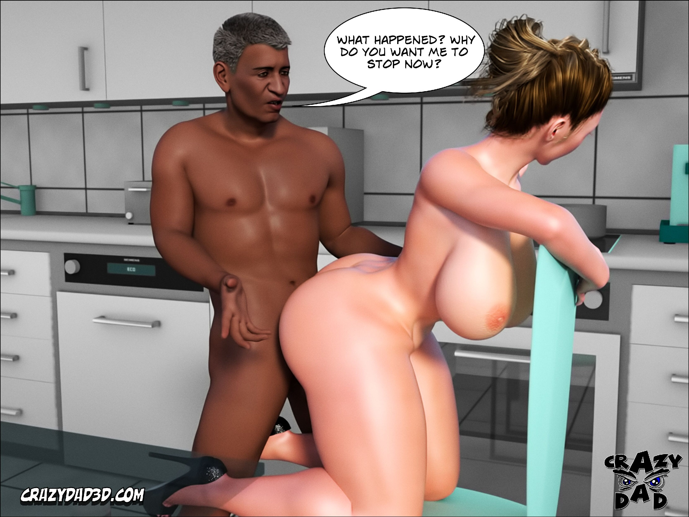 (CrazyDad3D ) Father in Law at Home 4