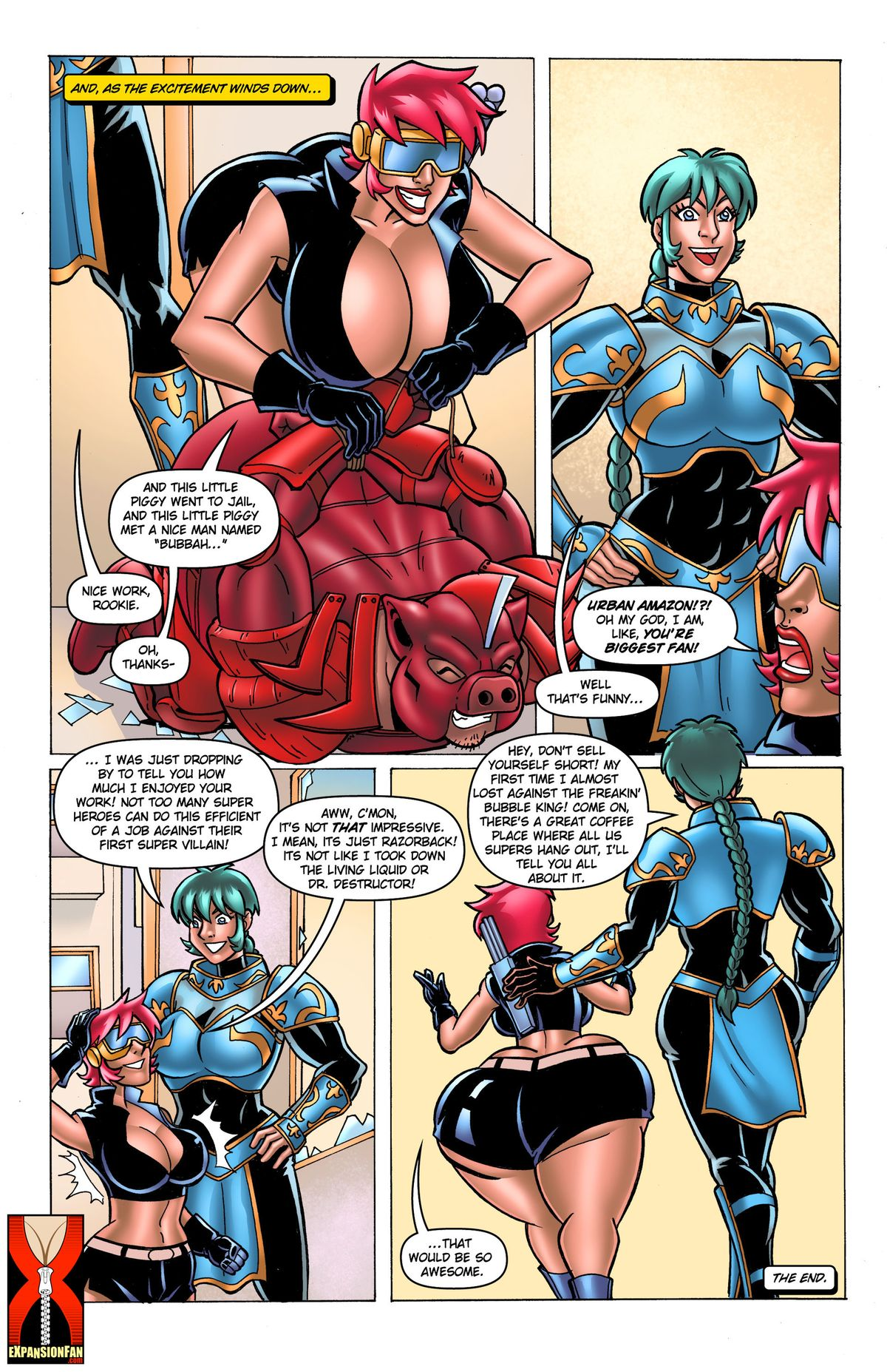 The Cleavage Crusader-Breast Expansion