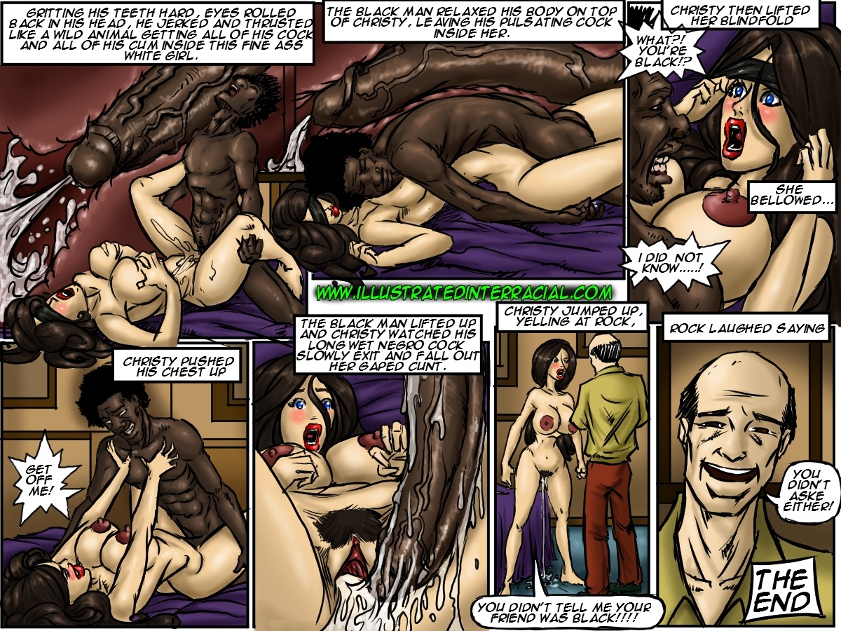 Illustrated interracial-Tricked
