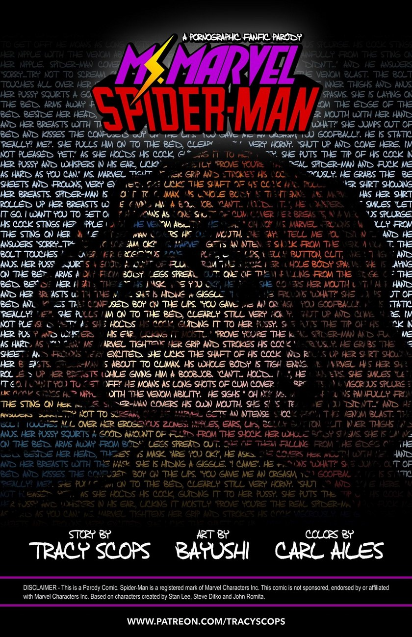 Miss Marvel Spider-Man- Tracy Scops
