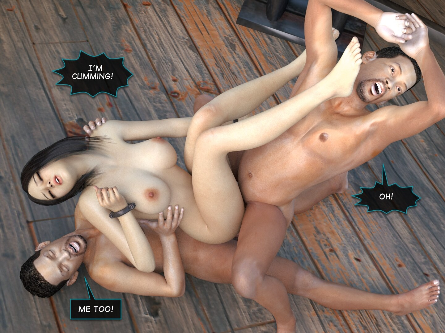 Affect3D – Mad Alyss 3-Twin Brothers