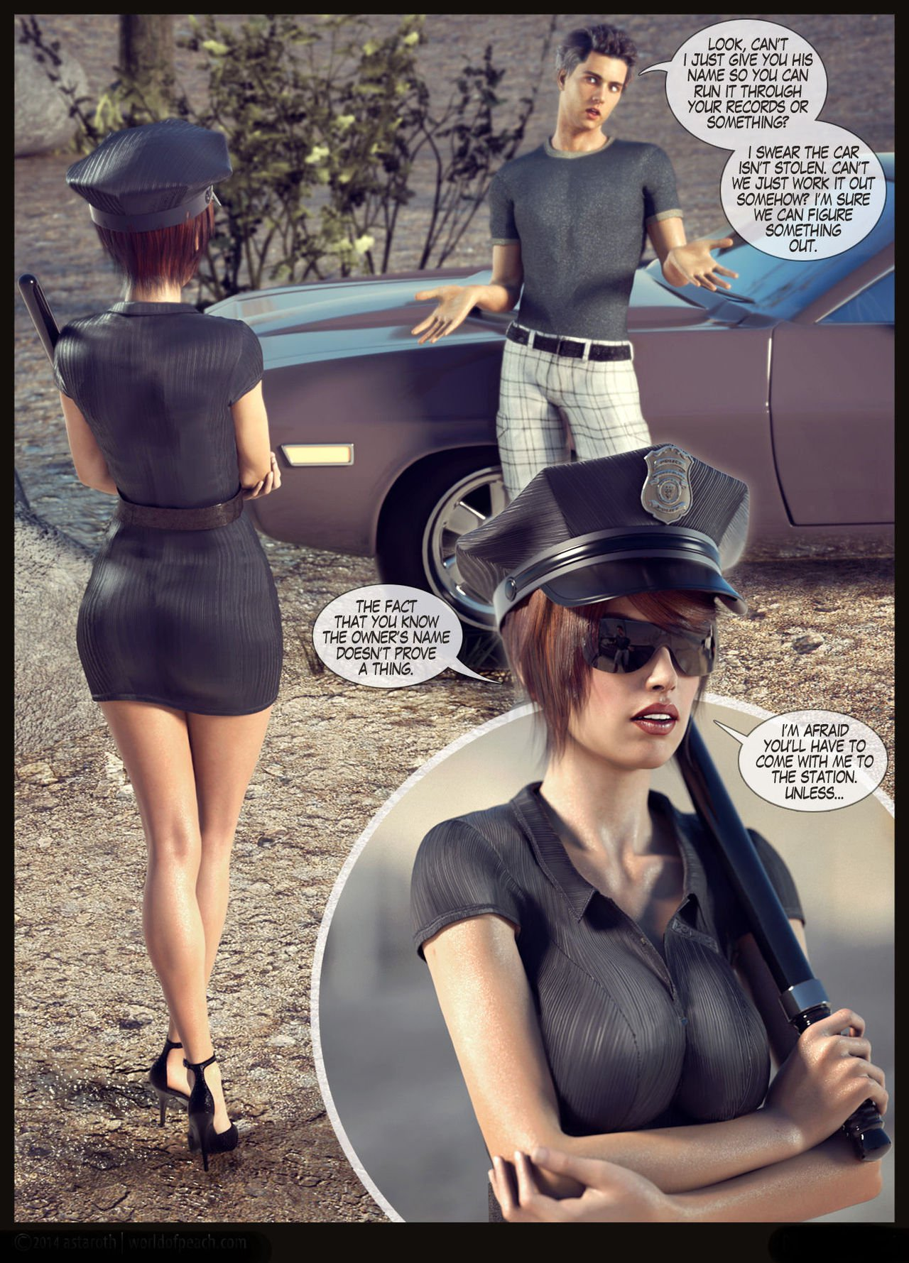 World of peach – busted!