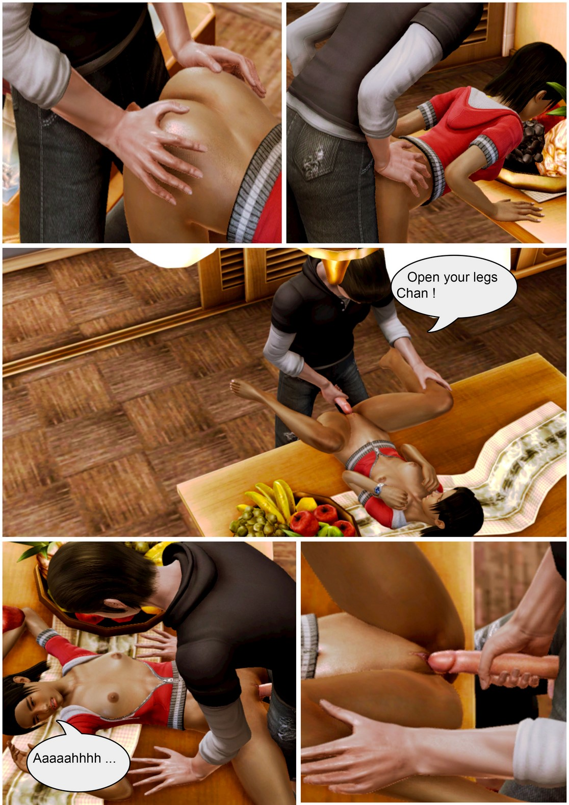 Wolfyperv-Adopted child's love for his sister 2