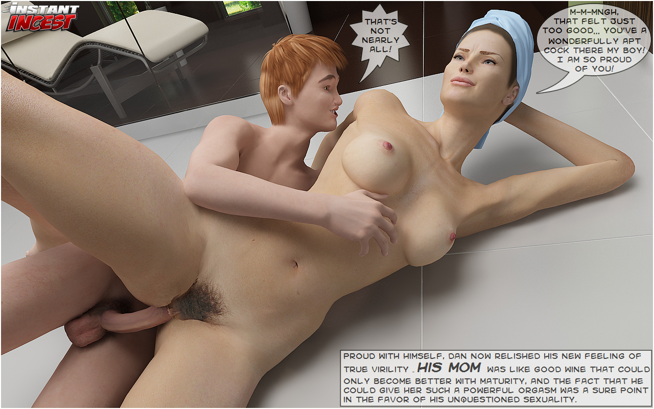Instant Incest-Fucking Mom in Bathroom