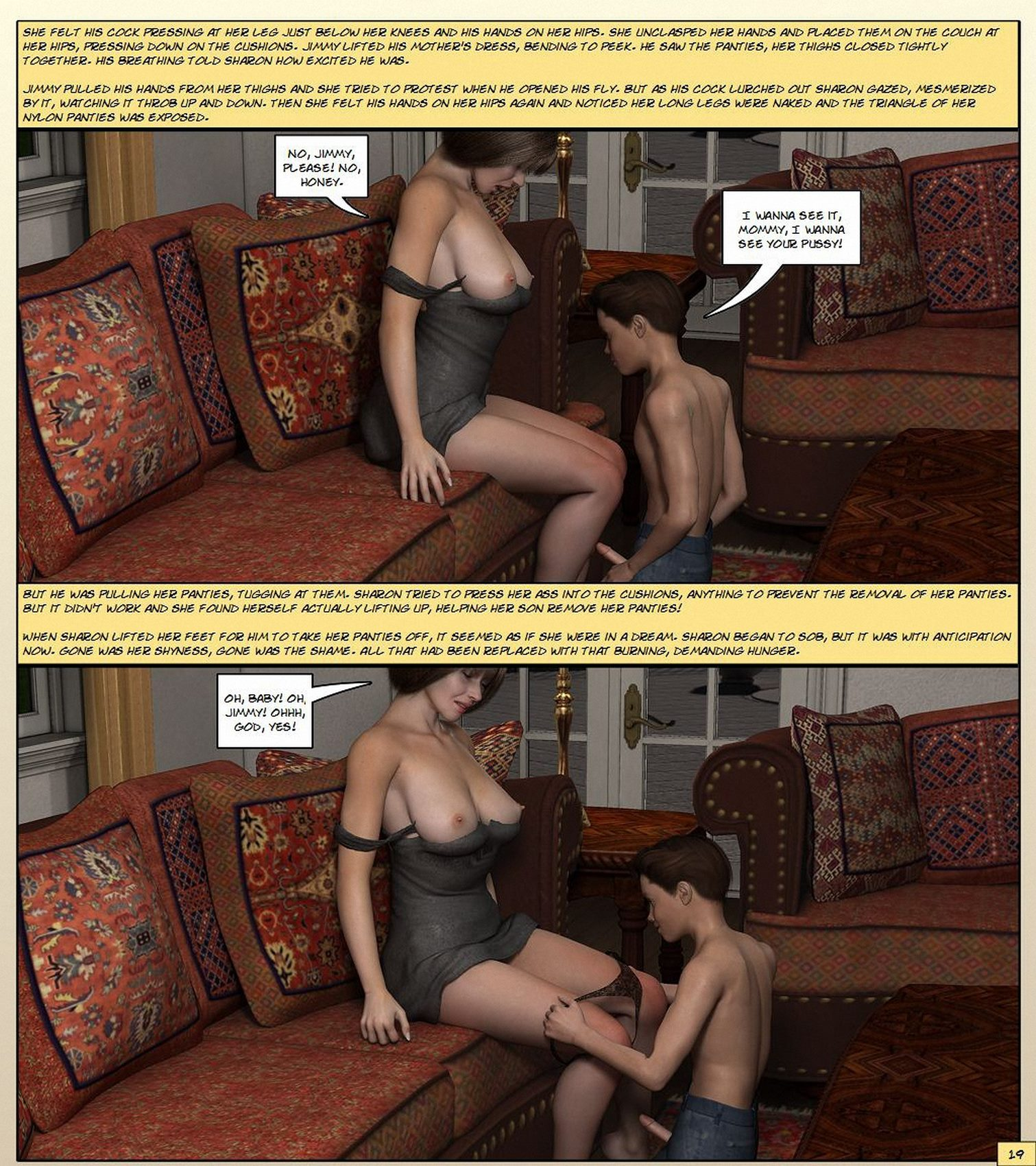 Kathy Andrews – Mother Gets Horny Part 1-3