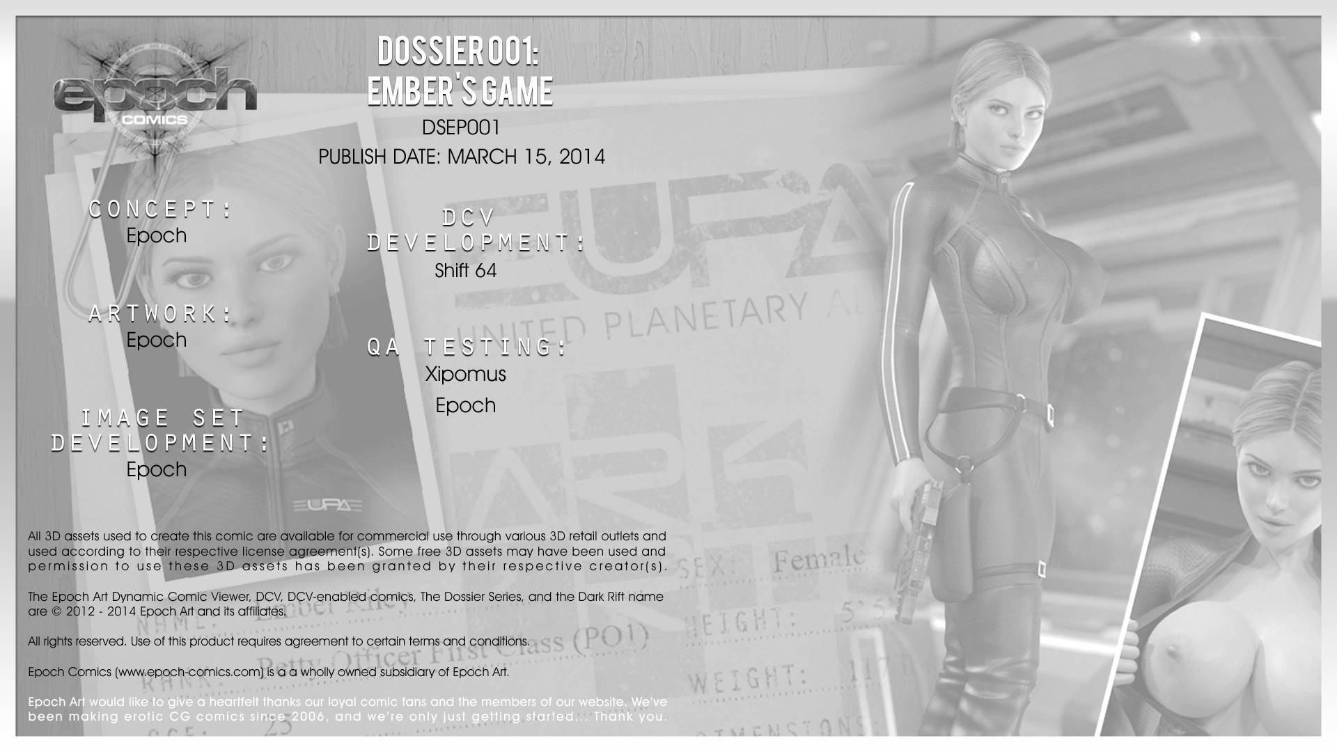 Epoch Art 鈥?Ember's Game-The Dossier Ep. 1