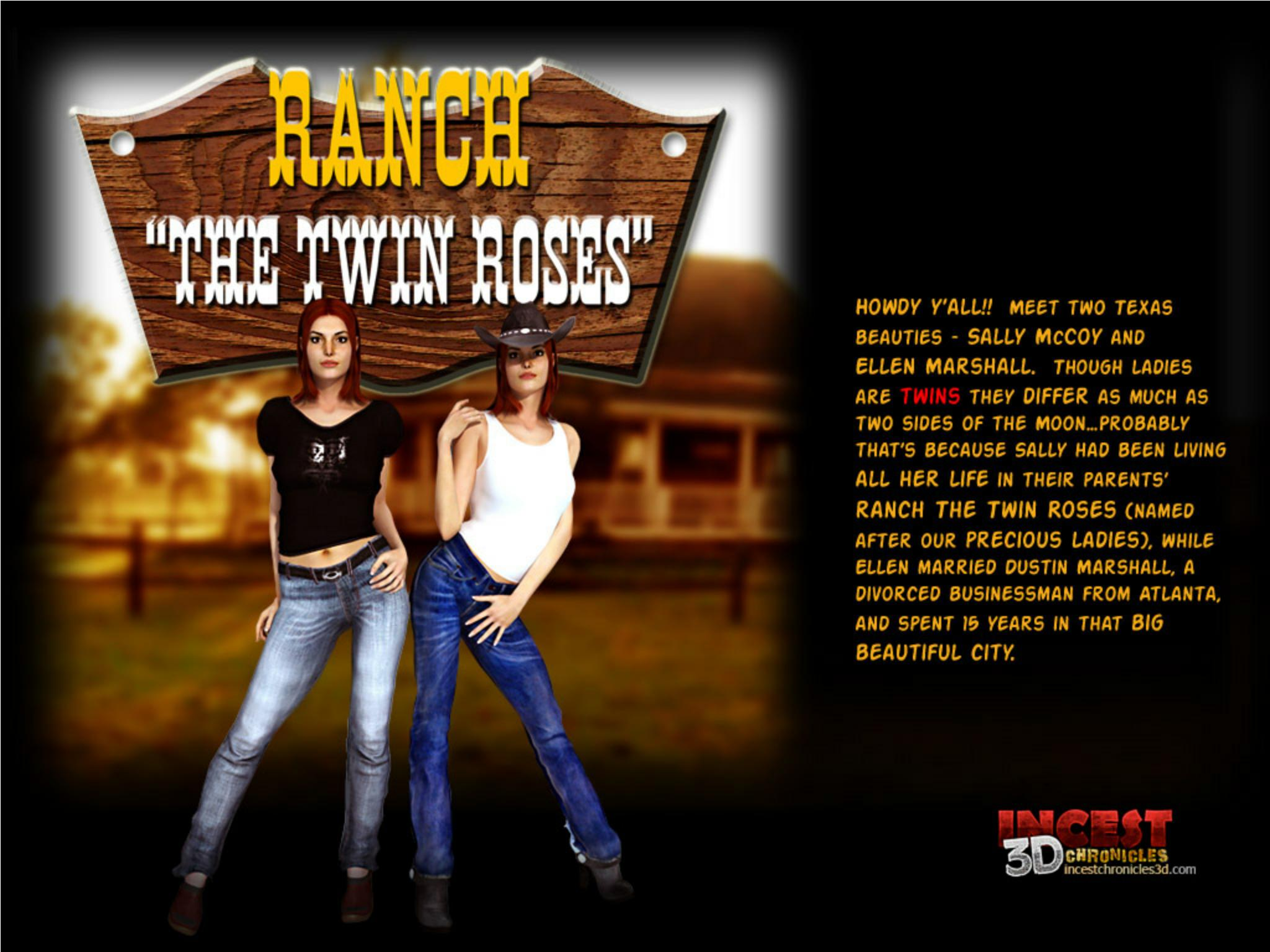Incest3DChronicles-Ranch The Twin Roses. Part1