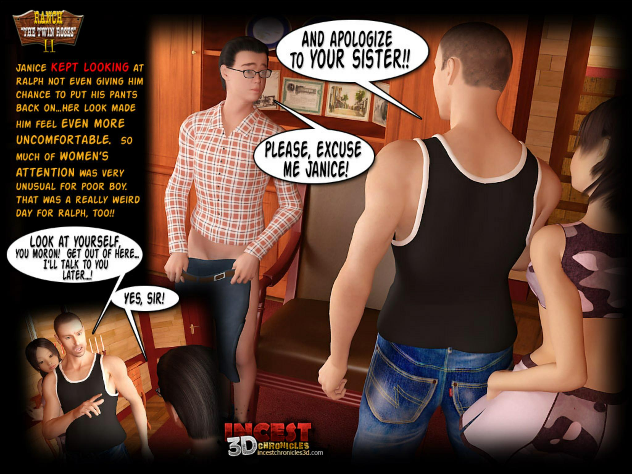 Incest3DChronicles- Ranch The Twin Roses. Part 2