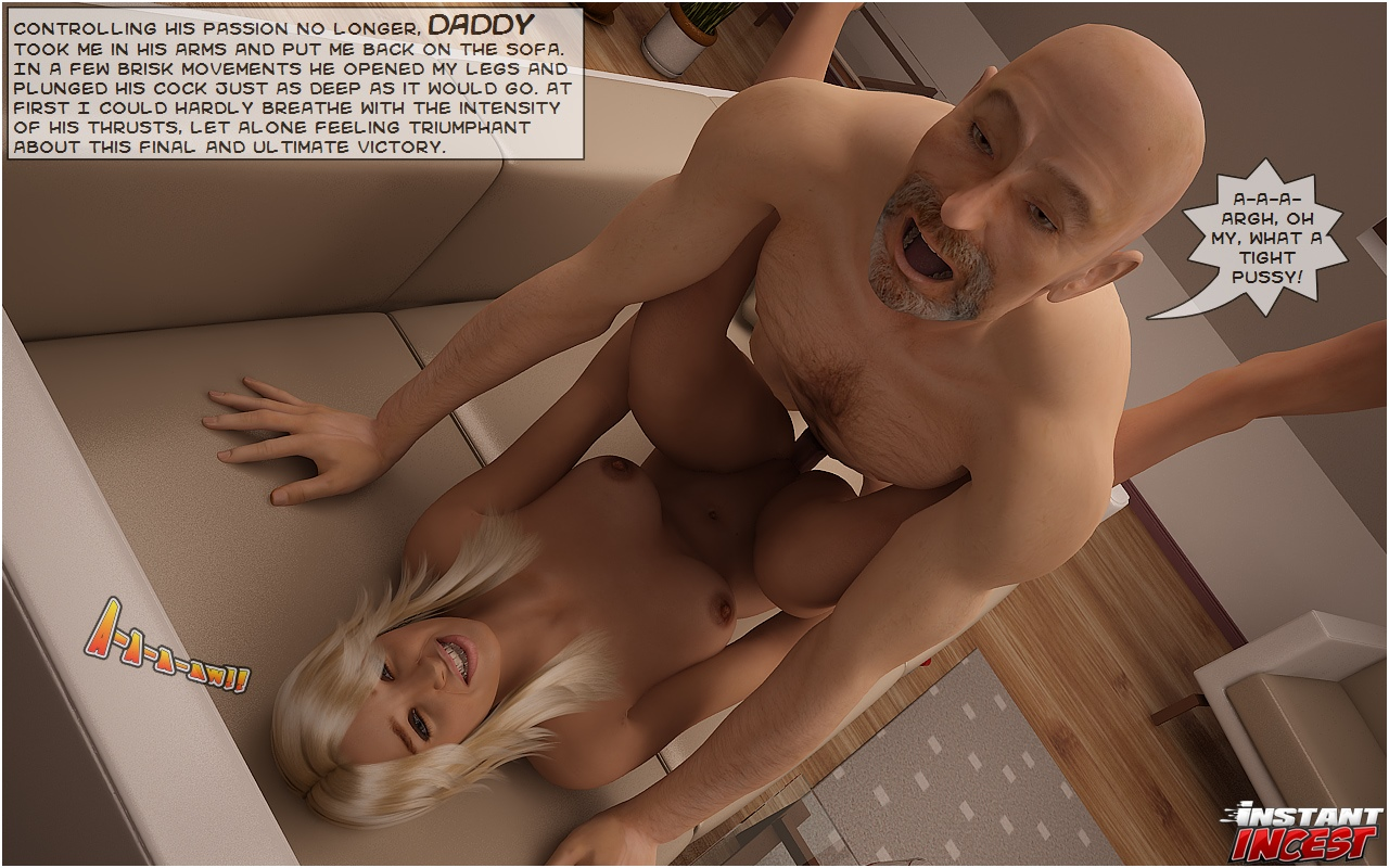 BLOND BOMBSHELL SCREWED BY HER DAD