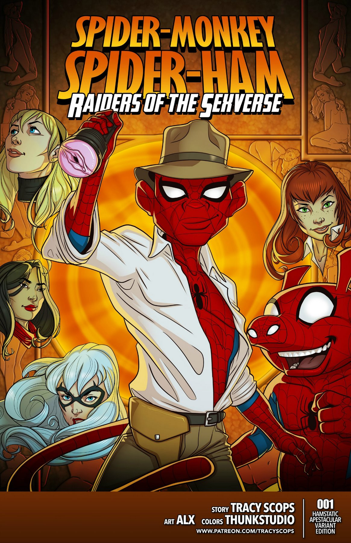 Spider Man-Raiders of the Sexverse