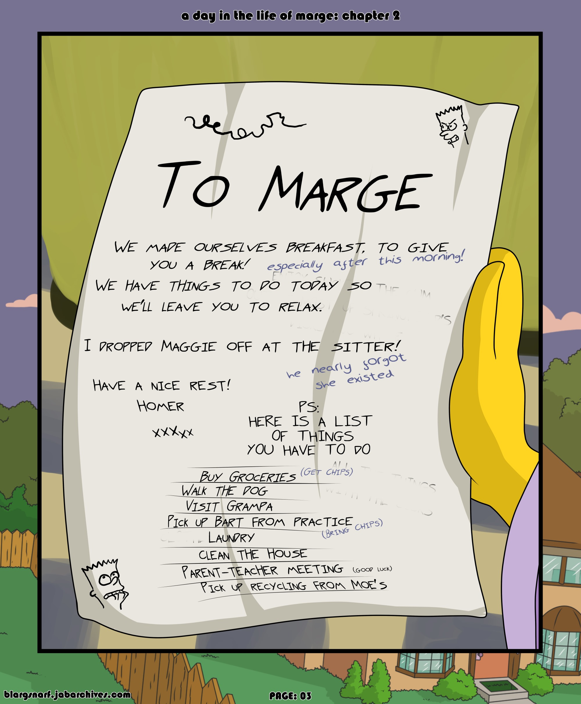 Simpsons-Day in the Life of Marge 2