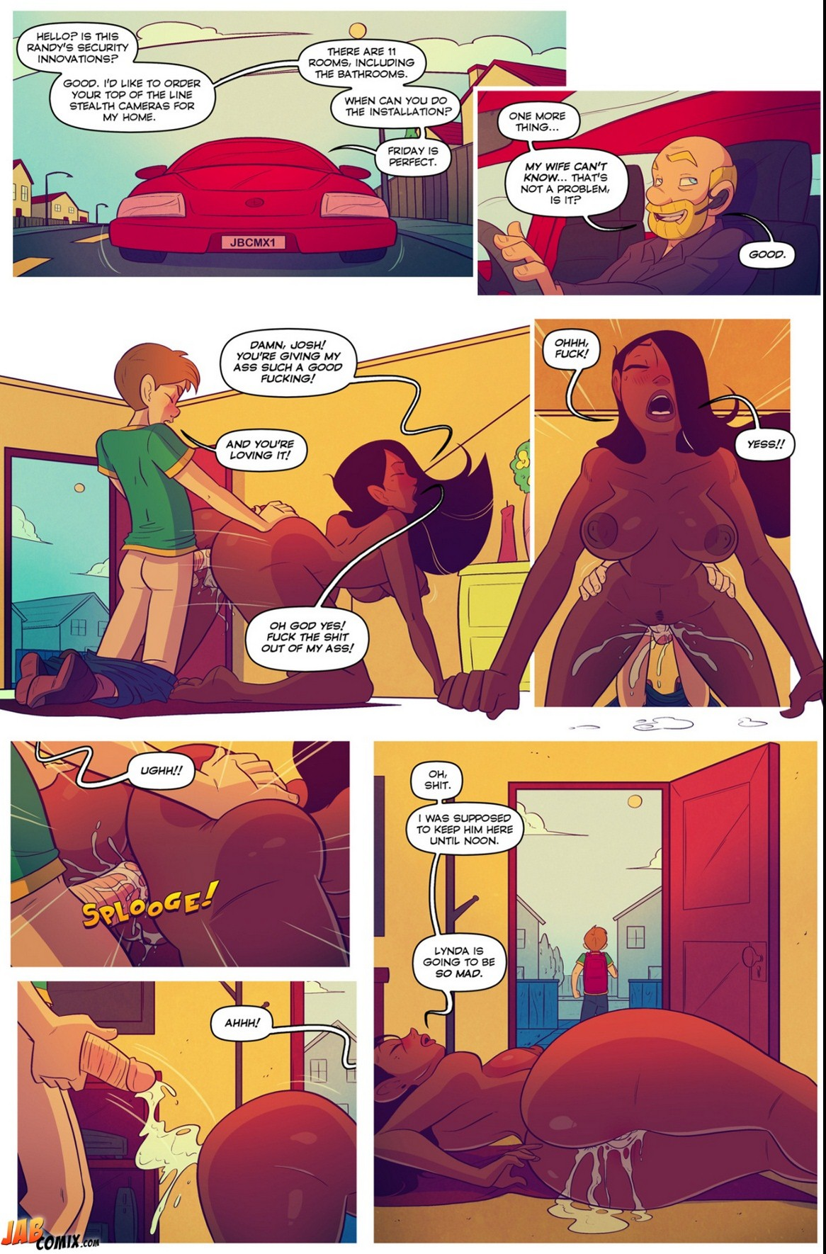 Keeping It Up With The Joneses 5- Jab Comix