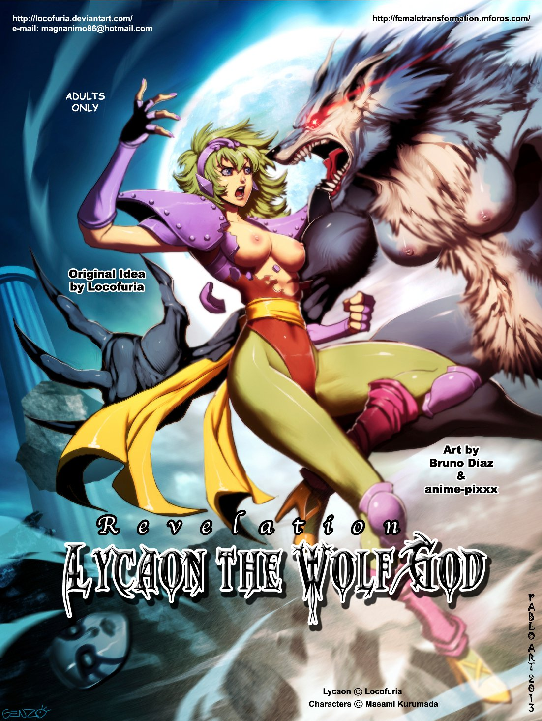 Lycaon The Wolf God 02