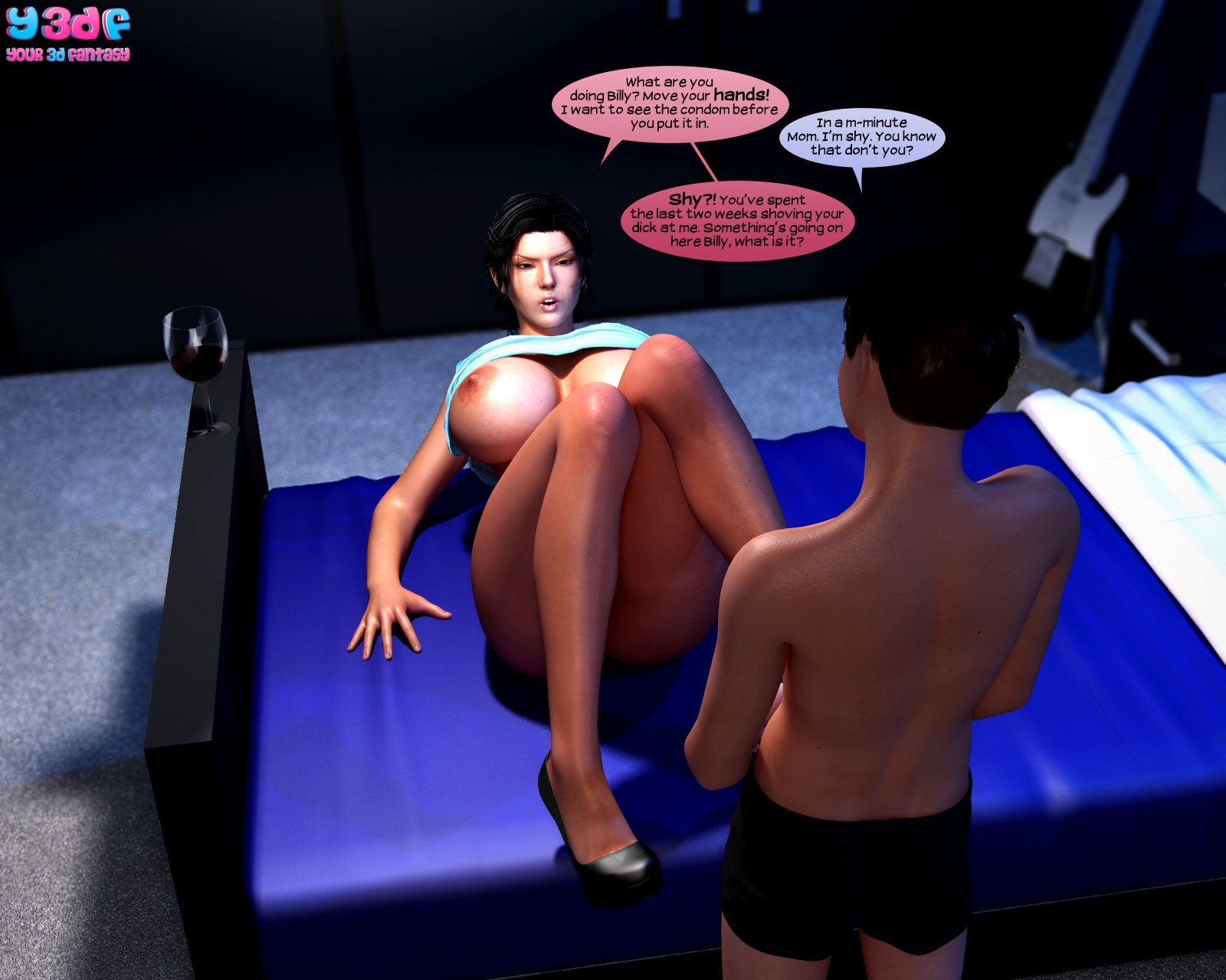 Y3DF – Abandonment Issues 2