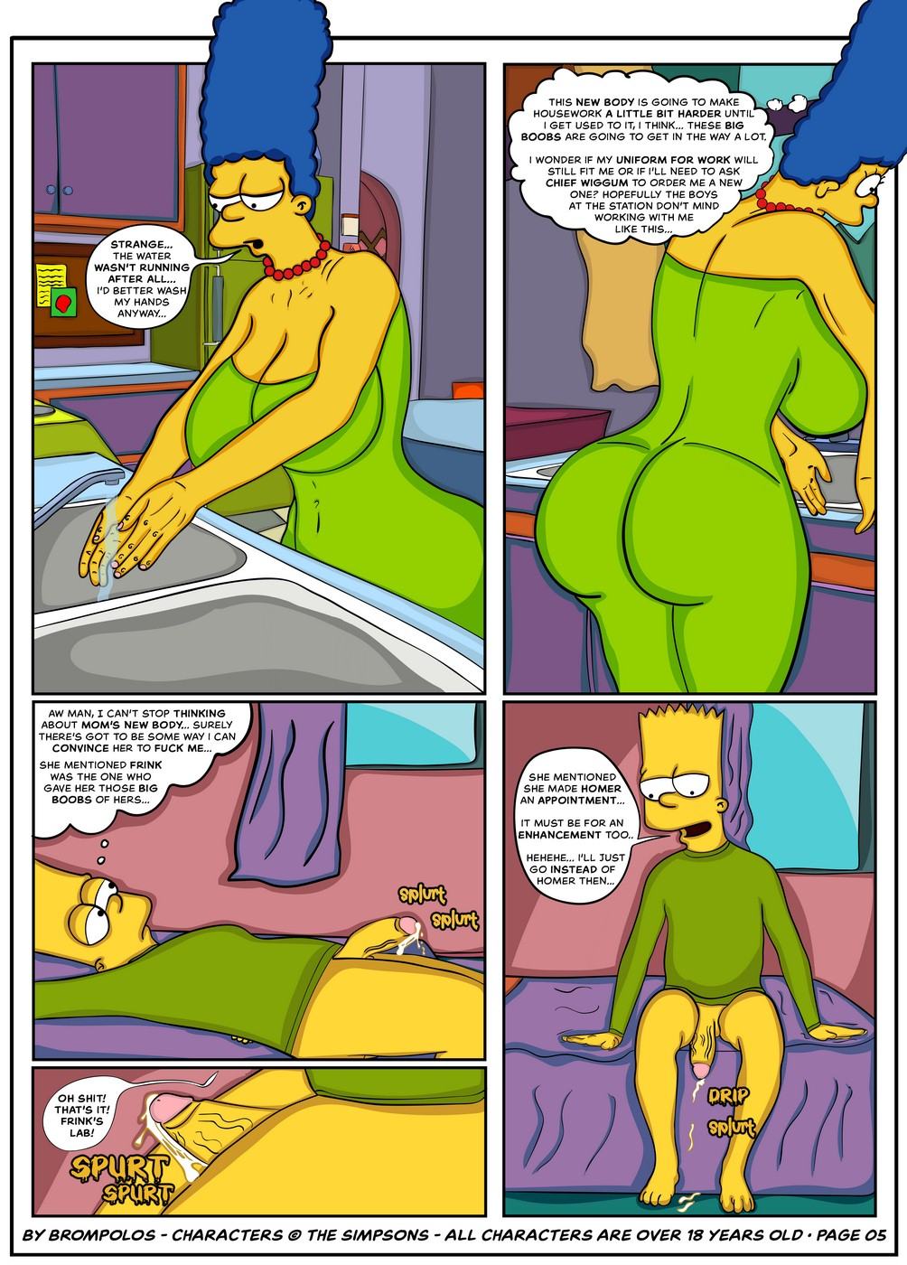 Simpsons are The Sexenteins- Brompolos