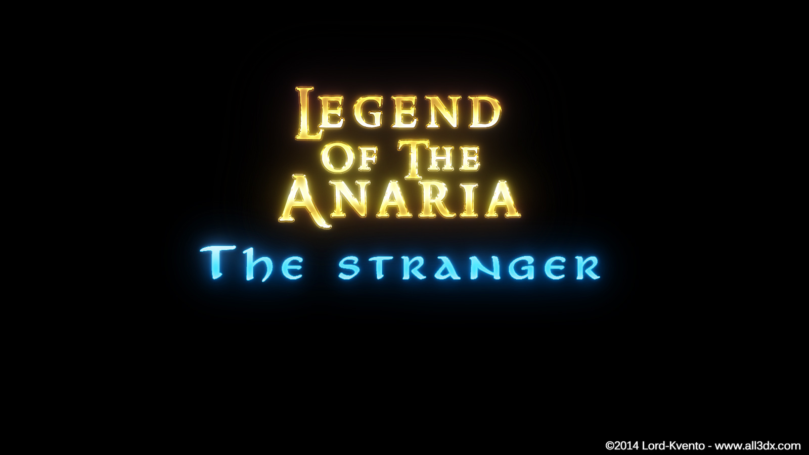Lord Kvento – Legend of the Anaria – The Stranger
