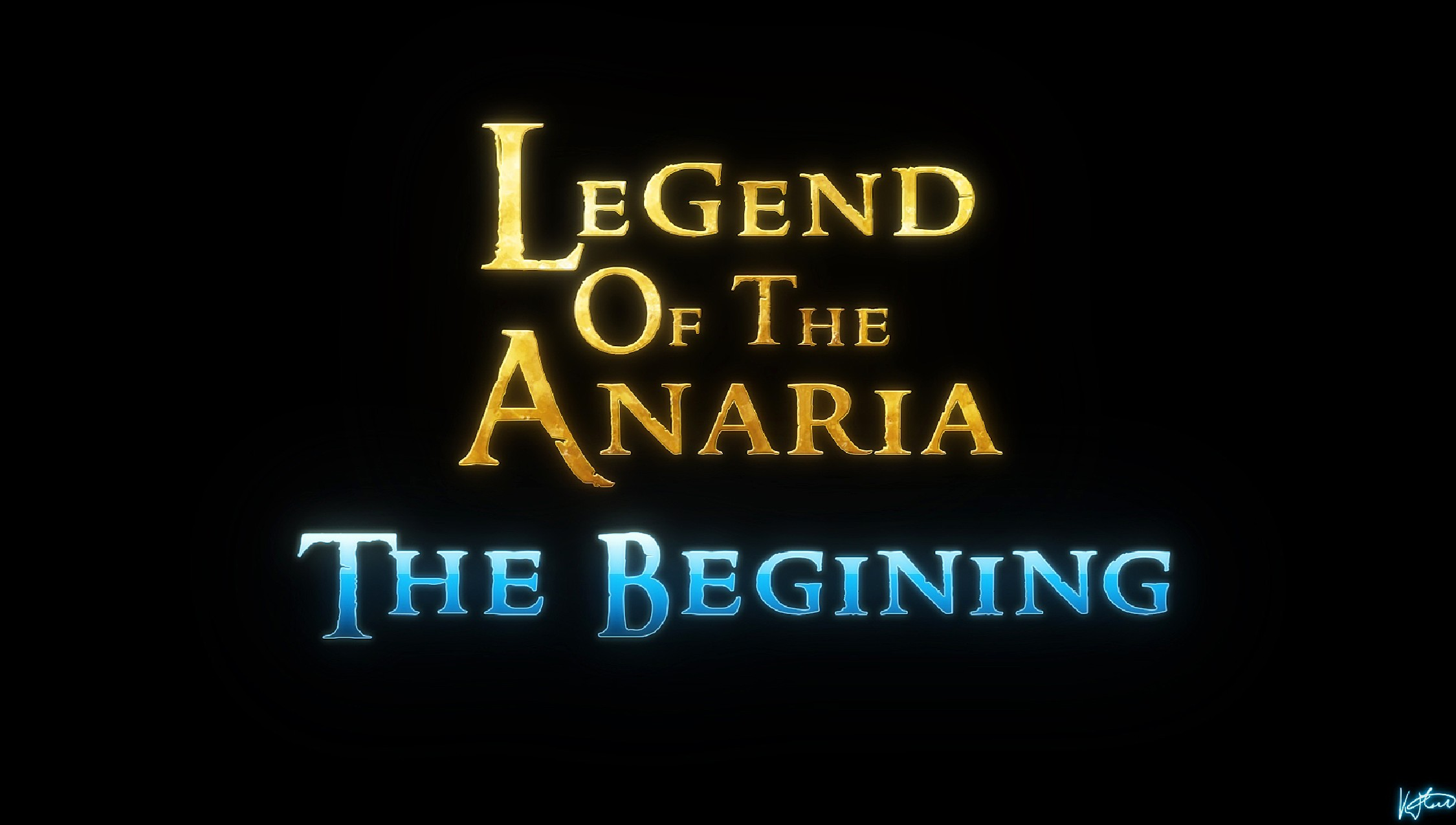 Lord Kvento – Legend of the Anaria – The Beginning