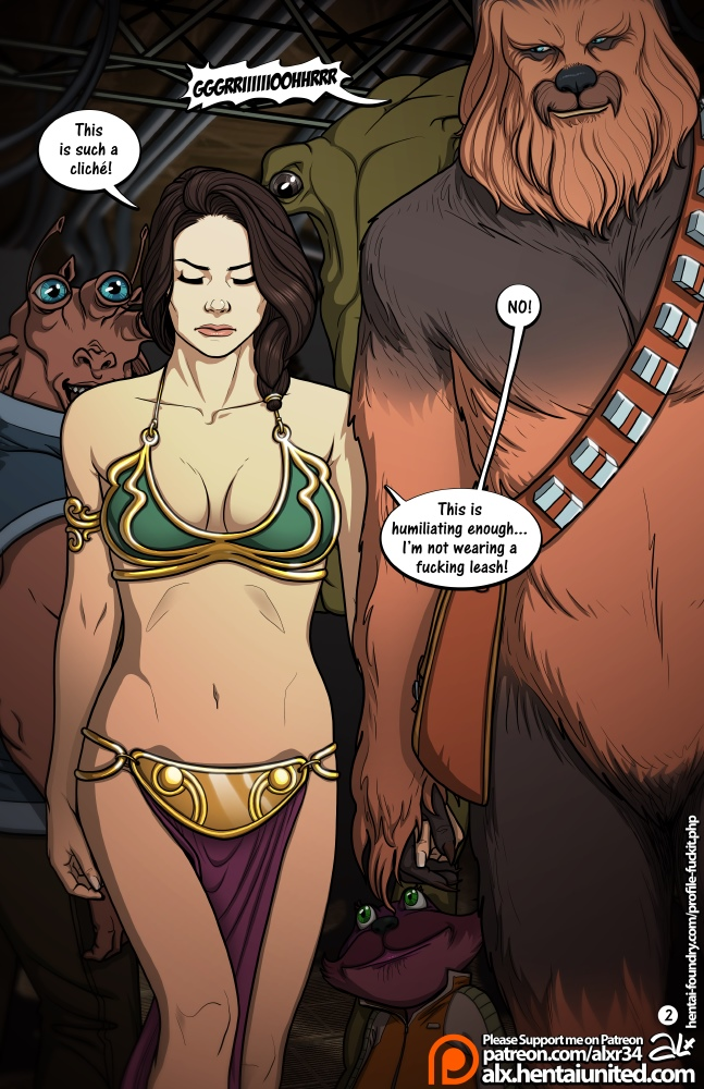 Star Wars: A Complete Guide to Wookie Sex II