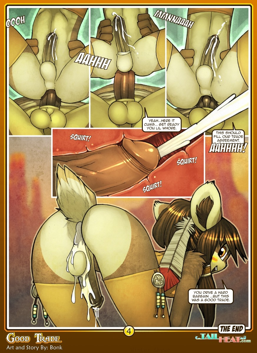 Good trade – Tail Heat Furry Adult Porn Comix