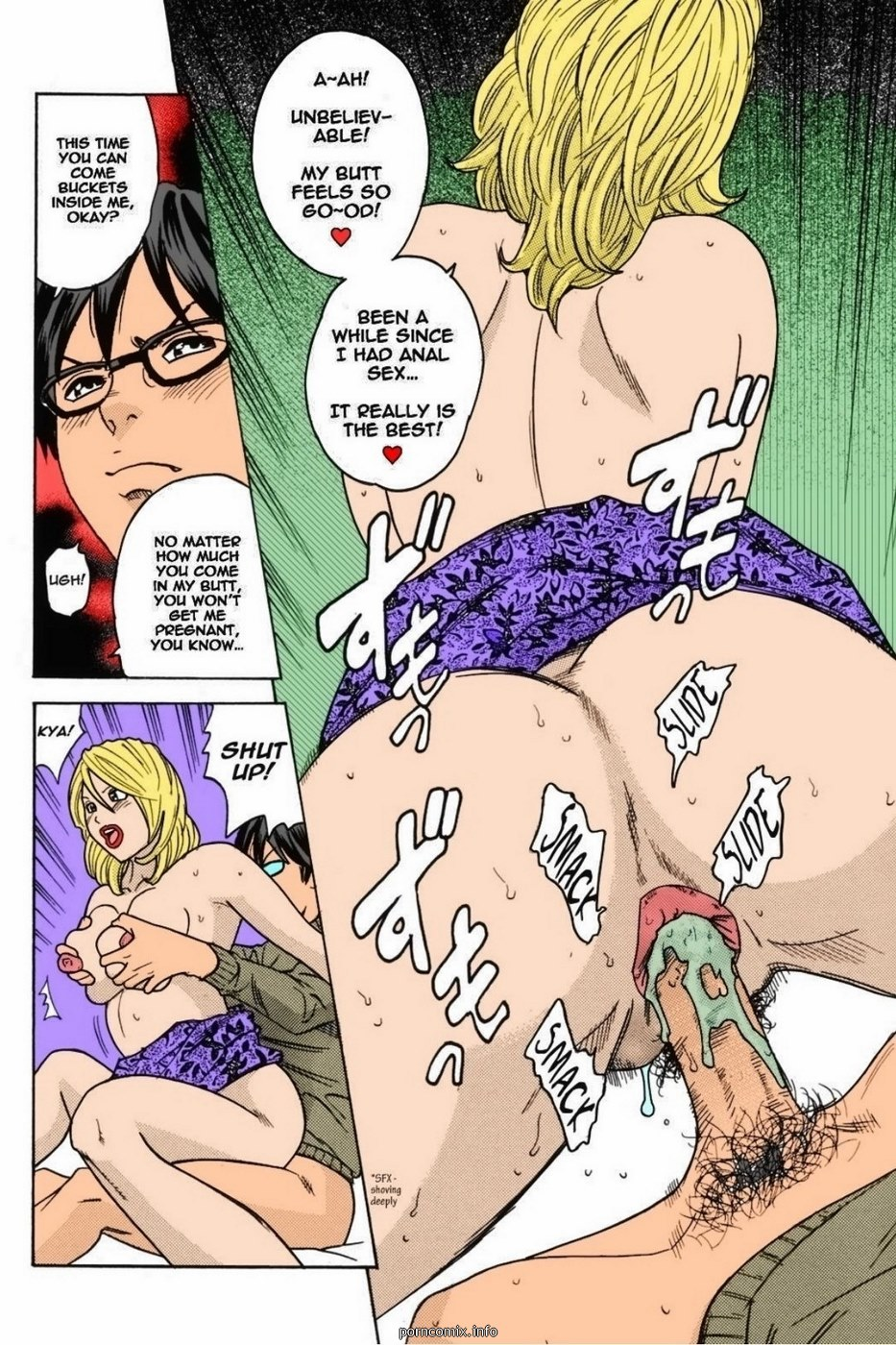 Mommy Anus- Hentai Incest (Color)