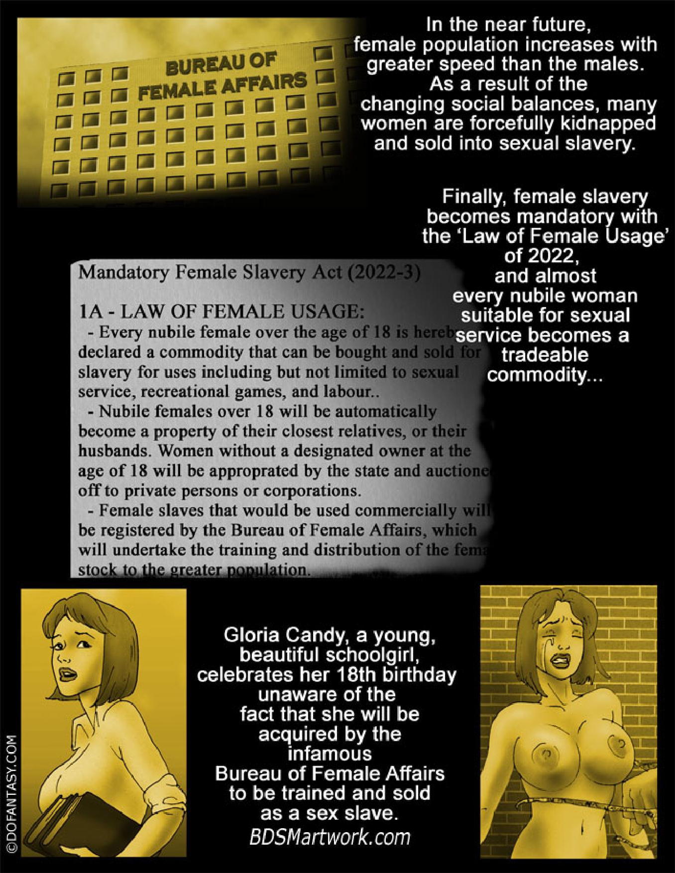 Gloria Candy - Bureau of Female Affairs