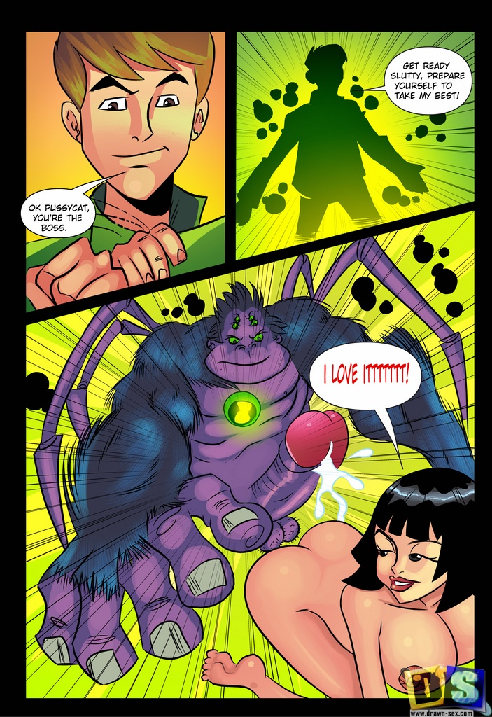 Ben 10– First Start , Drawn sex