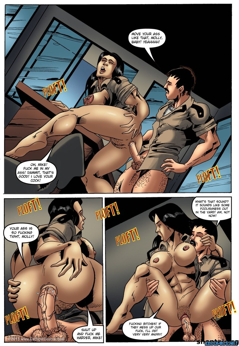 Cat Fight Central,Prison Bitches 1-2 - Free Adult Porn Comix