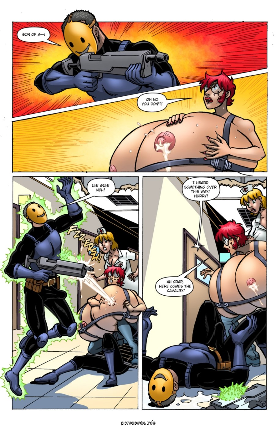 The Cleavage Crusader 6- Expansionfan