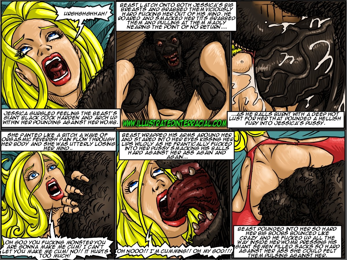 Farm girl - Illustrated interracial-Free Adult Porn Comi