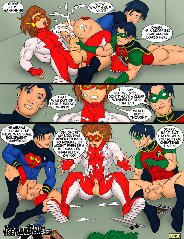 Iceman Blue- Young Justice
